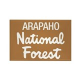 Arapaho (Sign) National Fores Rectangle Magnet