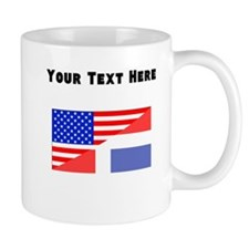 Dominican American Flag Mugs