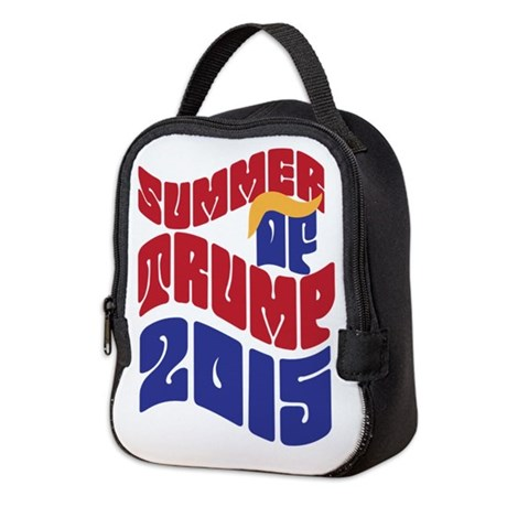 Summer of TRUMP 2015 Neoprene Lunch Bag