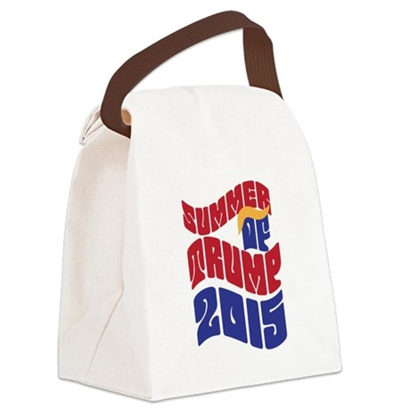 Summer of TRUMP 2015 Canvas Lunch Bag