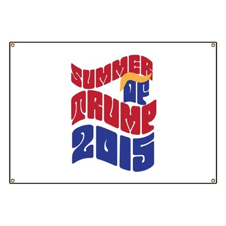 Summer of TRUMP 2015 Banner