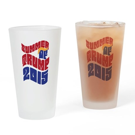 Summer of TRUMP 2015 Drinking Glass