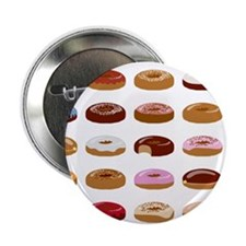 "Donut Lot 2.25"" Button (100 pack)"