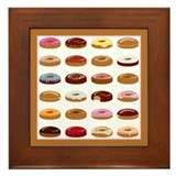 Donut Lot Framed Tile