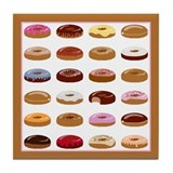 Donut Lot Tile Coaster