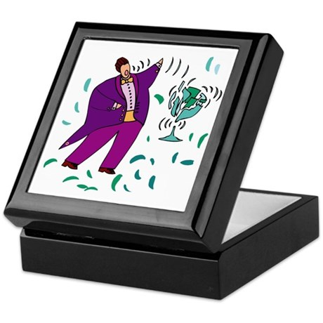 Opera Singer Tenor Keepsake Box