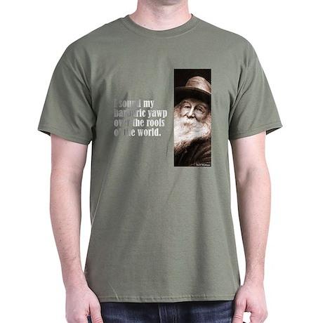 """Whitman """"Yawp"""" Dark T-Shirt"""
