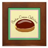 Boston Cream Framed Tile