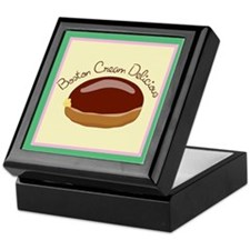 Boston Cream Keepsake Box