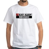Eat Sleep Music Shirt
