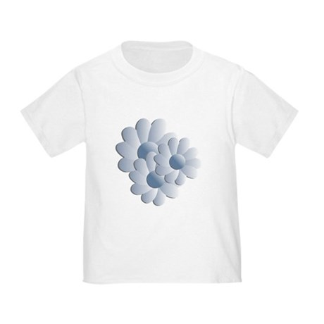 Pretty Daisy Trio - Blue Toddler T-Shirt