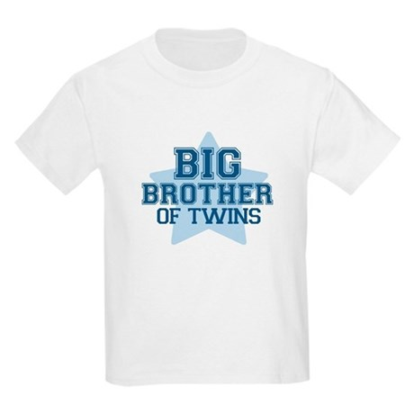Big Brother of Twins - Kids Light T-Shirt