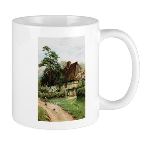 English Country Cottage Mug