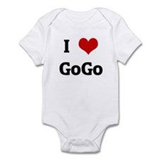 I Love GoGo Infant Bodysuit