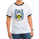 Mouse Error Cartoon Women's Plus Size Scoop Neck T