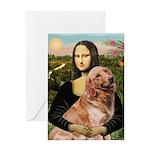 Mona's Golden Retriever Greeting Card