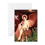 Angel & Golden Retrieve Greeting Cards (Pk of 20)