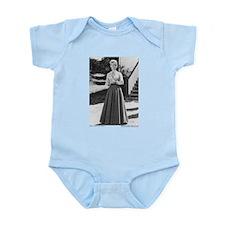 Miss B plain (full length) Infant Bodysuit