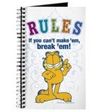 Break Rules Garfield Journal