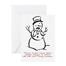 Funny Stupid christmas Greeting Card
