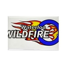 Waterloo Wildfire Rectangle Magnet (10 pack)