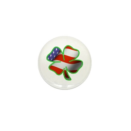 Irish American Mini Button (100 pack)