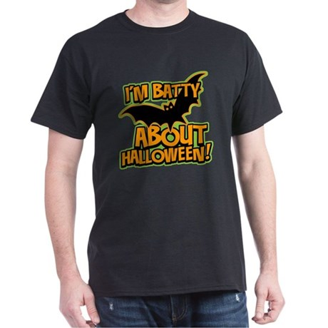 I'm Batty Halloween Dark T-Shirt
