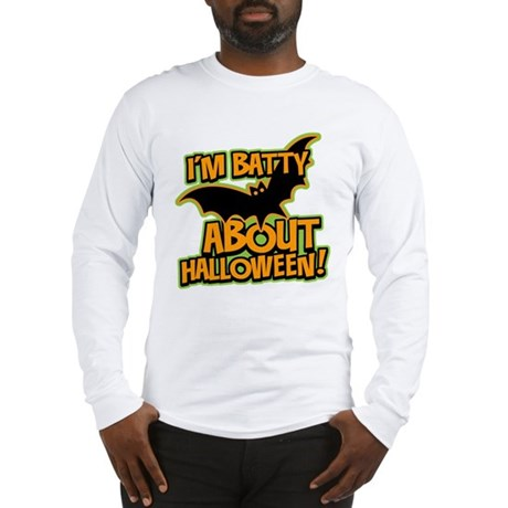 I'm Batty Halloween Long Sleeve T-Shirt