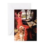 The Lady's Golden Greeting Cards (Pk of 20)