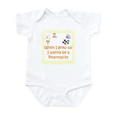 I Wanna Be A Pharmacist Infant Bodysuit