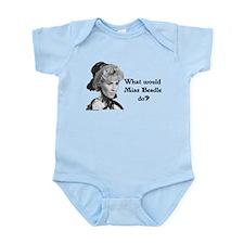 What Would Miss B (b&w) Infant Bodysuit