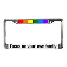 Focus license plate