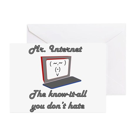 Know it all Greeting Cards (Pk of 10)