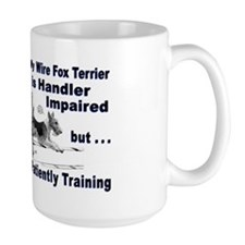 Wire Fox Terrier Agility Coffee Mug