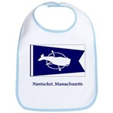 Nantucket MA Flag Bib