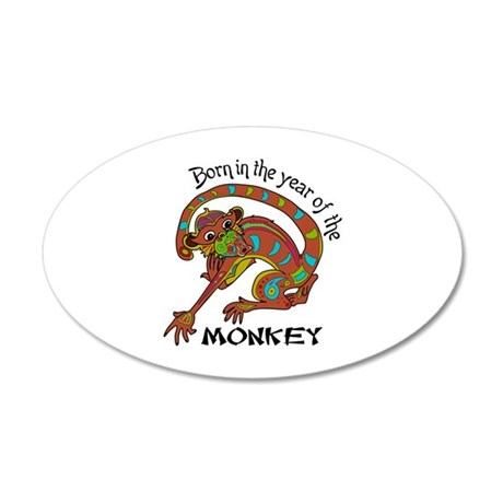 YEAR IN THE MONKEY Wall Decal
