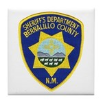Bernalillo County Sheriff Tile Coaster