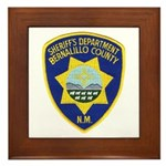 Bernalillo County Sheriff Framed Tile