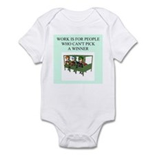 horse racing gifts t-shirts Infant Bodysuit
