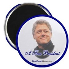 """A True President"" Magnet"