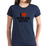 I Love Welsh Boys Tee