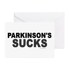 Parkinson's Sucks 1.2 Greeting Cards (Pk of 10)