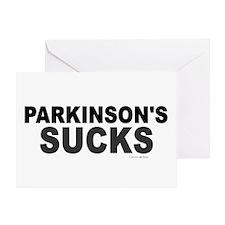 Parkinson's Sucks 1.2 Greeting Card