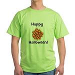 Happy Halloween! Green T-Shirt