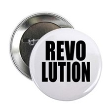 """One Word Revolution 2.25"""" Button (10 pack)"""