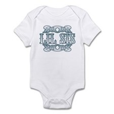 Lil Sis Silver Buckle Infant Bodysuit