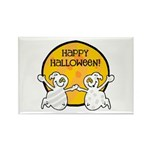 Friendly Ghosts Rectangle Magnet (100 pack)