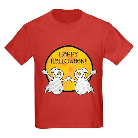 Friendly Ghosts Kids Dark T-Shirt