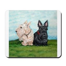 Scottish Terrier Companions Mousepad