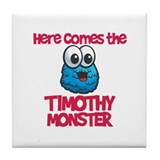 Timothy Monster Tile Coaster